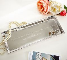 Mother's Day Sentiment Tray #potterybarn