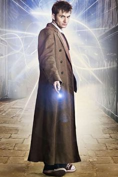 The 10th Doctor's coat. LOVE David Tennant's tweed longcoat in the Doctor Who series*