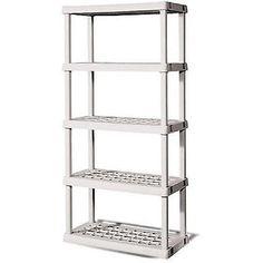 Garage Shelving Unit 5 Shelf Storage Rack Home Organizer Home Kitchen Office New