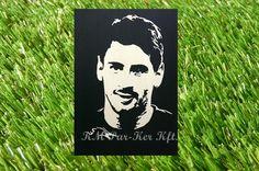 Lionel Messi wood inlay pictures, intarzia kép