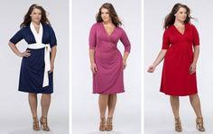 Saiba como escolher e usar corretamente os vestidos plus size. Dicas para você não errar na cor, no tecido, na estampa e acessórios. Fotos para se inspirar.