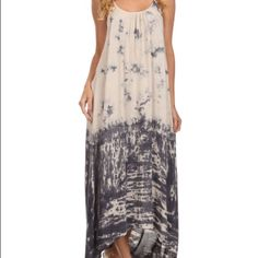 "Selling this ""Tie dye acid washed Cami maxi dress"" in my Poshmark closet! My username is: kyeshaby. #shopmycloset #poshmark #fashion #shopping #style #forsale #Dresses & Skirts"