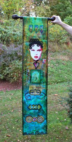 Art-Is-You 2013 Recap - Part 2 of 2 Mixed Media Art Retreat http://www.marjiekemper.com/art-is-you-2013-recap-part-2-of-2