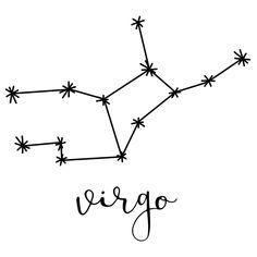 Brewster WallPops x – Virgo Wall Decorating Kits Black Wall Coverings Adhesives Wall Decorating Kits Virgo Constellation Tattoo, Zodiac Constellations, Constellation Drawing, Virgo Sign, Zodiac Signs Virgo, Small Henna Designs, Zodiac Signs Symbols, Virgo Tattoo Designs, Symbol Drawing