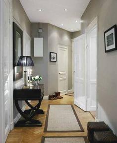 Living space color scheme