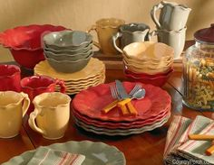 Park Desings Village Bakeware/Serveware/Dinnerware Collection