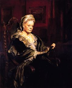 Lady Violet, the Dowager Countess of Downton Abbey. Dame Maggie Smith. Gah, I love me some Downton Abbey. Beautiful painting! :)