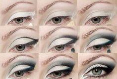 Black eyeshadow Create this dramatic eye look