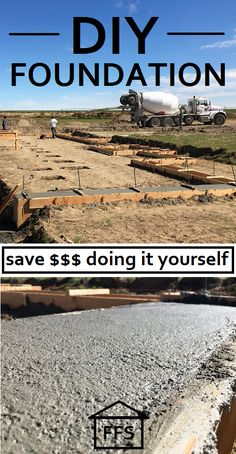 Concrete foundation forms google search footers pinterest diy foundation how to do it yourself and save money easy beginner instructions solutioingenieria Images