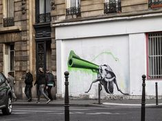 Ludo drops a new series of pieces in Paris, France