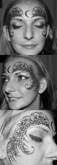 House Of Night Face Design by TheMajesticCarnival.deviantart.com on @deviantART