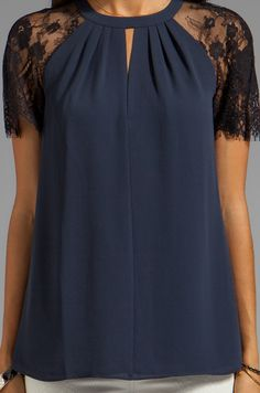 Alice by Temperley Regalia Top en Midnight | REVOLVE