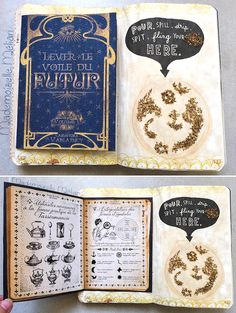 Activité : Wreck this Journal / Saccage ce carnet - mes pages Harry Potter