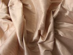 Champagne wedding bridal shantung raw silk fabric number 743  - yard or meter by SilksByUmf on Etsy