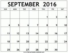 calendar template 2018 september