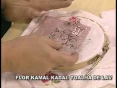 ARTE BRASIL -- VALQUÍRIA CAMPANELLI -- FLOR KAMAL KADAI (12/04/2011 - Parte 2 de 2) - YouTube