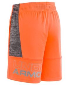 Under Armour Twist Stunt Shorts, Little Boys - Orange 7 Mens Gym Shorts, Kids Shorts, Sport Shorts, Sport Fashion, Mens Fashion, Basketball Pants, Athletic Fashion, Toddler Boys, Little Boys