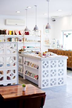 I love te use of the painted decorative bricks!   The new Studio Bomba in Leederville, Western Australia.
