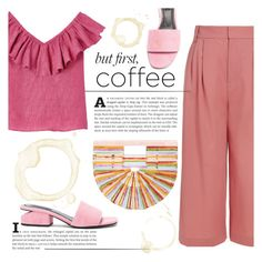 Coffee Break by katerin4e-d on Polyvore featuring polyvore fashion style TIBI Alexander Wang Cult Gaia clothing