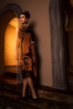 "Vintage Kollektion ""Art Deko"" by Natalia Franzke. Art Projects, Luxury, Vintage, Collection, Dresses, Fashion, Creative, Deco, Vestidos"