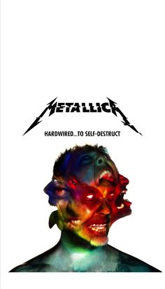 Metallica hardwired to self destruct cover wallpaper fondo iphone Metallica Cover, Metallica Albums, Metallica Art, 80s Metal Bands, Heavy Metal Bands, Pink Floyd Poster, Hardwired To Self Destruct, Celebrity Singers, Rock Bands