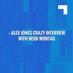 Just in: Alex Jones Crazy Interview With Heidi Montag & Spencer Pratt... https://angryamericanarmy.tumblr.com/post/163648623195?utm_campaign=crowdfire&utm_content=crowdfire&utm_medium=social&utm_source=pinterest