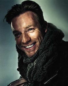 Ewan McGregor awesome portrait!