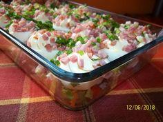 Potato Salad, Potatoes, Menu, Ethnic Recipes, Food, Essen, Menu Board Design, Potato, Meals