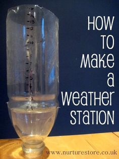 How to make a weather station plus 65+ other great ideas for exploring the weather with your kids: maths, science, art, crafts, all kinds of great ideas for a weather topic.