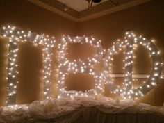 great idea for preference or bid day!