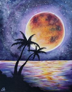 Starry Moonlit Palms at Mimi's Cafe Round Rock - Paint Nite Events near Round Rock, TX>