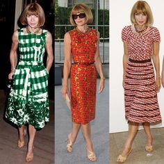 Anna Wintour, Two Piece Skirt Set, Skirts, Dresses, Fashion, Vestidos, French Tips, Silhouettes, Princess