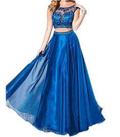 Ikerenwedding Women's Cap Sleeve Beaded 2 Pieces Empire Long Prom Dress Blue US06 Ikerenwedding http://www.amazon.com/dp/B00ZJYGPZ6/ref=cm_sw_r_pi_dp_mA.Evb19E73J5