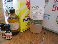 I want to make my own washing powder.  I hate spending tons of cash on detergent.  This recipe uses essential oils so it smells better than unscented or artificial chemically smelling detergent, in my opinion, because I am not sensitive to natural citrus fragrances :0)