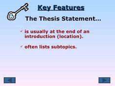 thesis money