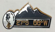 Orange SUMMIT / Mountain Emblem Replace OEM Mopar Jeep Fender Trunk Grille Badge