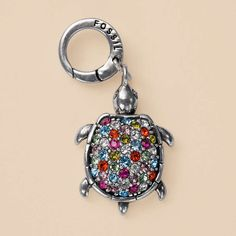 bejeweled turtle charm