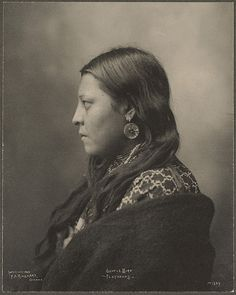 Gentle Bird, Flathead Indian, 1898