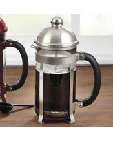 I love mine.... Got rid of the electric pot!  Bonjour Maximus French Press, 8 cup - Brushed Stainless Steel