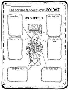 FRENCH Remembrance Day Activities & Vocabulary Package (Le jour du souvenir)