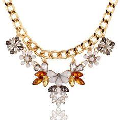 Big Trend Temperament Wild Metal Petals Necklace NN259 #http://www.madeinchina.com/pd/big-trend-temperament-wild-metal-petals-necklace-nn259-116495#.VeV15UZTHrc