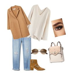"""Untitled #39"" by denii-cristina on Polyvore featuring Chicwish, Tabitha Simmons and MANGO"
