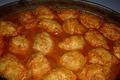 Retete Culinare - Kofta cu sos tomat la cuptor