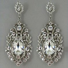 Beautiful vintage earrings