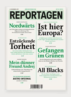 Mag, Typo, Editorial