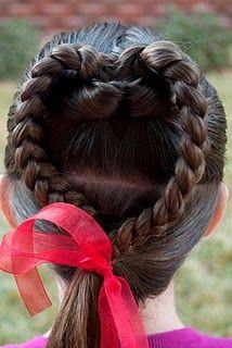 Valentine Heart hairstyle @ Princess Piggies