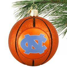 Tarheels basketball ornament