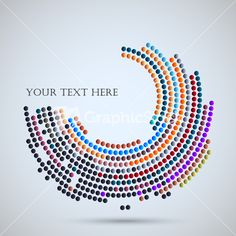 Vector Background With Abstract Mosaic Stock Image
