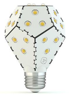 Nanoleaf Bloom LED Lampe dimmbar ohne Dimmer ersetzt 75 Watt E27 Birne, 10W 1200 Lumen 3000K warmweiß 360° 230V Weiß: Amazon.de: Beleuchtung
