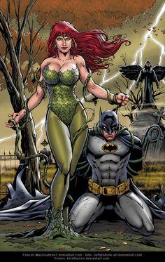 Poison Ivy and Batman | Marcio Abreu & Christian Salazar